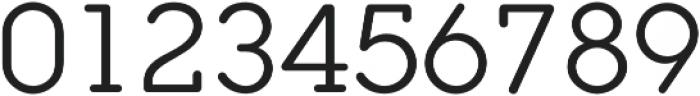 Ponsi Rounded Slab Regular otf (400) Font OTHER CHARS
