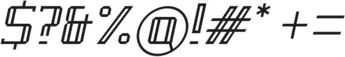 Pontem otf (300) Font OTHER CHARS