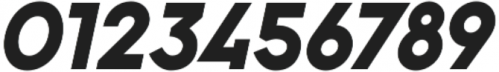 Pontiac Black Italic otf (900) Font OTHER CHARS