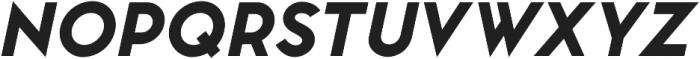 Pontiac Black Italic otf (900) Font UPPERCASE