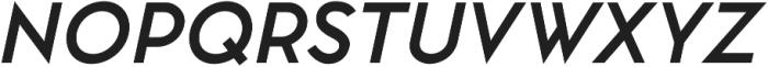 Pontiac Bold Italic otf (700) Font UPPERCASE