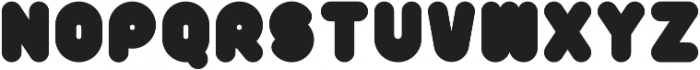 Poof-B-Gone-Solid ttf (400) Font UPPERCASE