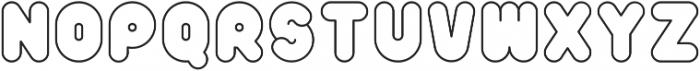 Poof-B-Gone ttf (400) Font UPPERCASE