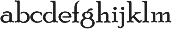 Poor Richard ttf (400) Font LOWERCASE