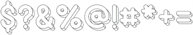 PopArt Wire1 otf (400) Font OTHER CHARS