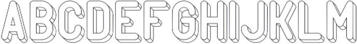 PopArt Wire1 otf (400) Font UPPERCASE