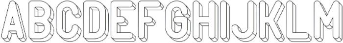 PopArt Wire1 otf (400) Font LOWERCASE