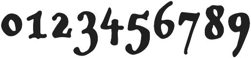 Popless Serif otf (400) Font OTHER CHARS