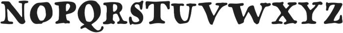 Popless Serif otf (400) Font UPPERCASE