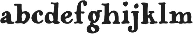 Popless Serif otf (400) Font LOWERCASE