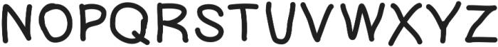Poppet ttf (400) Font UPPERCASE