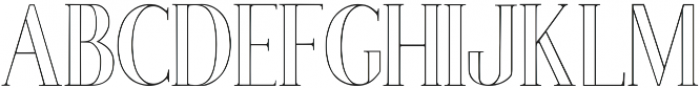 Poppy Lined Regular ttf (400) Font UPPERCASE
