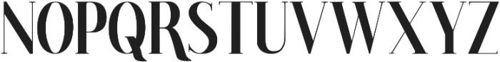 Poppy Regular ttf (400) Font UPPERCASE