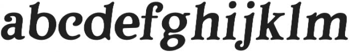 Porchlight SemiBold Italic otf (300) Font LOWERCASE