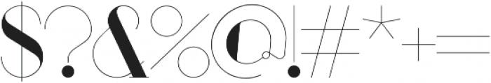 Port Medium Medium otf (500) Font OTHER CHARS