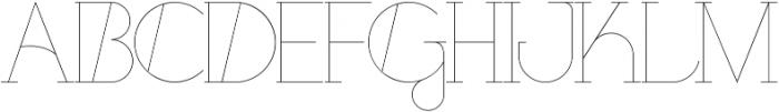 Port Medium Medium otf (500) Font UPPERCASE