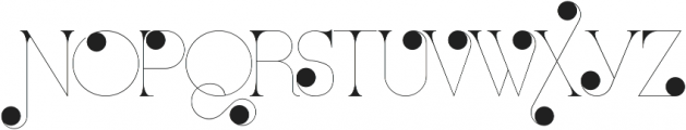 Port Vintage Medium Decorated otf (500) Font UPPERCASE