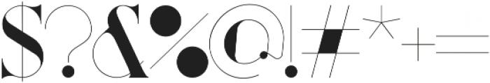 Port Vintage Regular Medium otf (500) Font OTHER CHARS