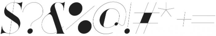 Port Vintage Regular otf (400) Font OTHER CHARS