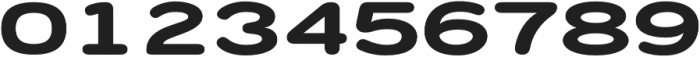 Porter FT Round Bold otf (700) Font OTHER CHARS