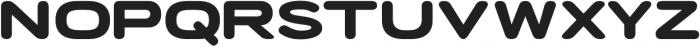 Porter FT Round Bold otf (700) Font UPPERCASE