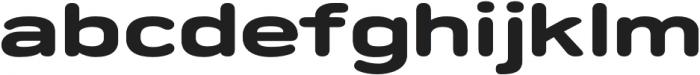 Porter FT Round Bold otf (700) Font LOWERCASE