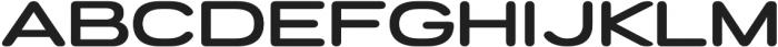 Porter FT Round SemiBold otf (600) Font UPPERCASE