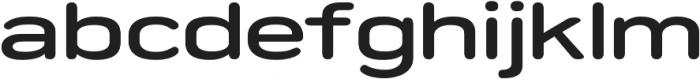 Porter FT Round SemiBold otf (600) Font LOWERCASE