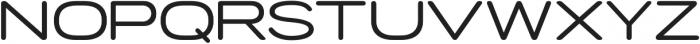 Porter FT Round otf (400) Font UPPERCASE