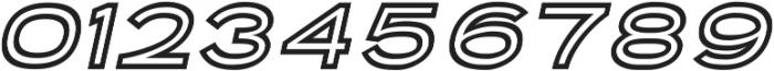 Porter Sans Inline Oblique ttf (400) Font OTHER CHARS