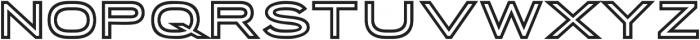 Porter Sans Inline otf (400) Font LOWERCASE