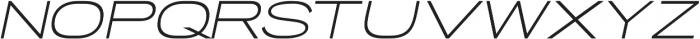 Porter Sans Medium Oblique otf (500) Font UPPERCASE