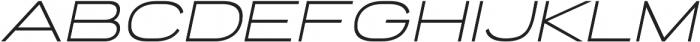 Porter Sans Medium Oblique ttf (500) Font LOWERCASE
