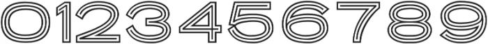 Porter Sans Outline otf (400) Font OTHER CHARS