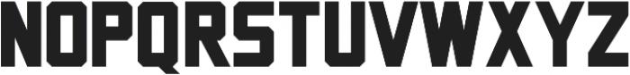 Porterhaus Sans ttf (400) Font UPPERCASE