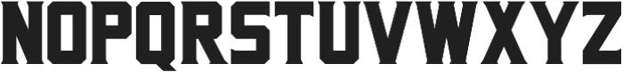 Porterhaus ttf (400) Font LOWERCASE