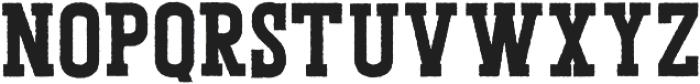 Porthem Rough otf (400) Font UPPERCASE