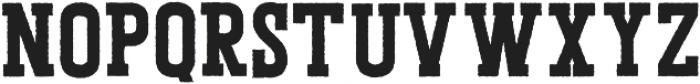 Porthem Rough otf (400) Font LOWERCASE