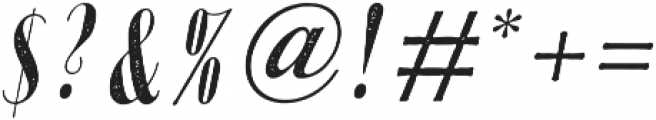 Portia AgedOblique otf (400) Font OTHER CHARS