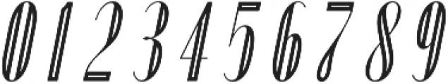 Portia Display Oblique otf (400) Font OTHER CHARS
