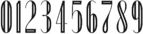 Portia Display otf (400) Font OTHER CHARS