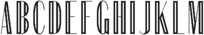 Portia Display otf (400) Font UPPERCASE