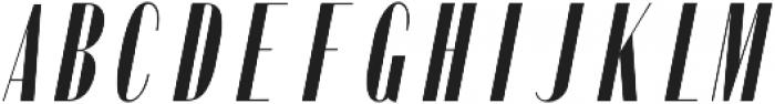 Portia Oblique otf (400) Font UPPERCASE