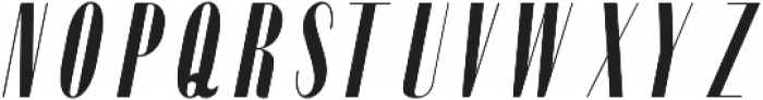 Portia Oblique otf (400) Font LOWERCASE