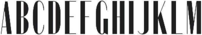 Portia Regular otf (400) Font UPPERCASE