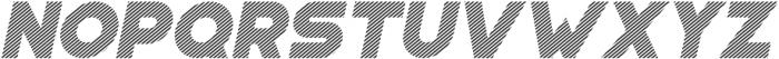 Portico Diagonal Oblique otf (400) Font LOWERCASE