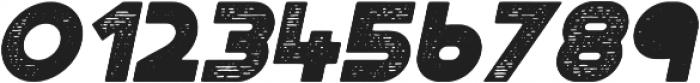 Portico Rough Oblique otf (400) Font OTHER CHARS