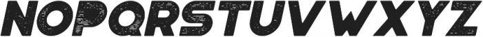 Portico Rough Oblique otf (400) Font LOWERCASE