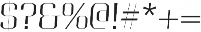 Portize otf (400) Font OTHER CHARS