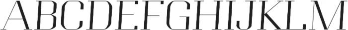 Portize otf (400) Font UPPERCASE
